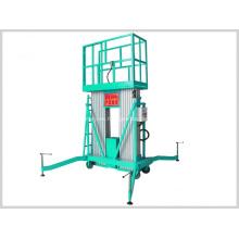 Plataforma elevadora de aluminio móvil de fácil operación 4-18m
