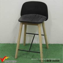 Handmade Cozinha Bar Stool cadeira alta