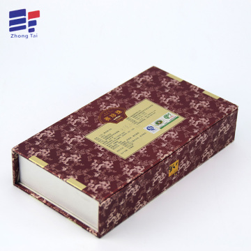 Magnet paper tea packaging box