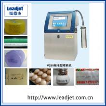 Impressora a jato de tinta industrial automática do número do lote de Cij do Leadjet 1-4 Cij