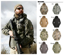 9 Colors High Quality Lurker Sharkskin Soft Shell V 4.0 Outdoor Waterproof Windproof Jacket, Military Jacket, Army Jacket, Tactical Jacket