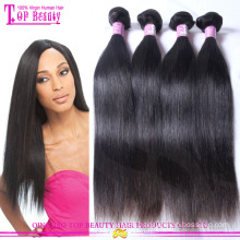 High quality real double drawn virgin russian hair