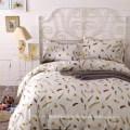 Грациозно покрашенная ткань микрофибра для постельного белья лист-удобная и безопасная