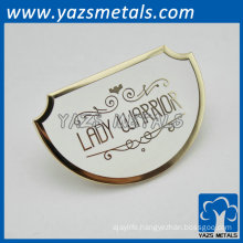 semicircular metal decoration badges for women gifts