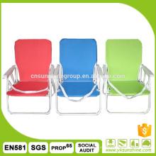 Cadeira ao ar livre do pátio jardim dobrável, cadeira de praia de dobramento