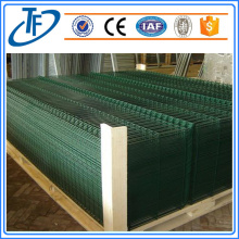 Square post dirakit Welded melengkung wire mesh pagar
