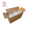 Pacote quadrado da caixa de papel ondulado da exportação impressa costume quente da venda