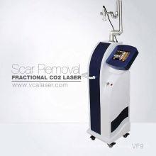 fractional CO2 laser scar removal and dermabrasion