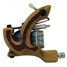 Professional Brass Tattoo Gun with High Quality Tattoo Machine
