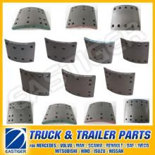 Más de 400 artículos de piezas de camiones para el revestimiento de frenos