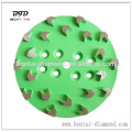 Arrow segments paint remoal disc for coating, glue, epoxy removal