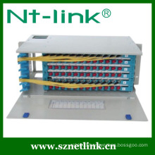 96 core rack mount fiber optic patch panels