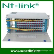 Painéis de correção de fibra óptica de montagem em rack de 96 núcleos