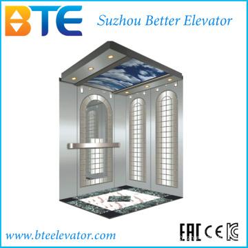 Ce Хорошее оформление и безопасный пассажирский лифт без машинного отделения