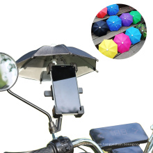 Take-out Mobile Phone Umbrella Delivery Man Motorcycle Mobile Phone Frame Small Umbrella Advertising Decoration Umbrella