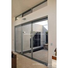 Porta deslizante de quadro comercial - Série 702