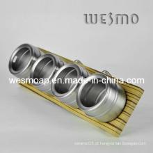 Cremalheira magnética da especiaria com gancho (WKB0314B)