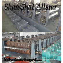 Industrial steel silo roll forming machine, silo systems