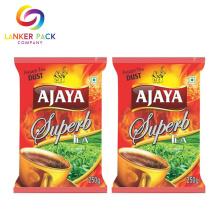 Emballage de sachet à thé noir personnalisé Mylar résistant à l'humidité