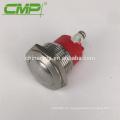 Interruptor de botón momentáneo impermeable de metal IP68 1NO