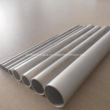 Tubo redondo de aluminio extruido de los perfiles para el radiador del coche