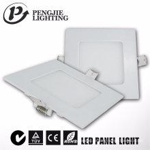 2017 hochwertige 3 Watt Platz Ultra-Slim LED-Panel Licht