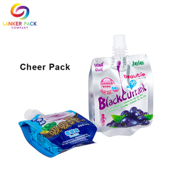 Customized Laminated Plastic Packaging Packaging Spout Pouch Bag