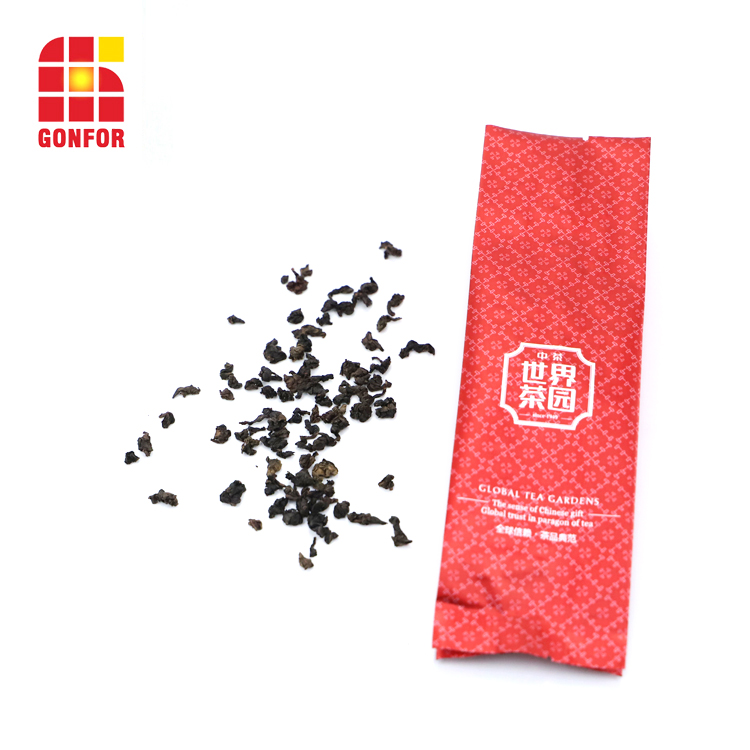 High Quality Printed Tea Bag Aluminum Side Gusset Pouch 1