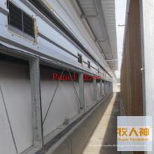 Verkleidungstür im Geflügel-Haus für Broiler