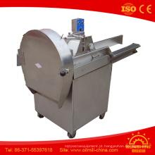 Máquina de corte para cortador de legumes frondoso picado fatia em forma de fatia