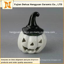 Mini cerâmica hallowmas decoração abóbora