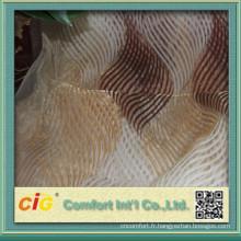 Tapisserie d'ameublement Organza imprimé tissu pour fenêtre