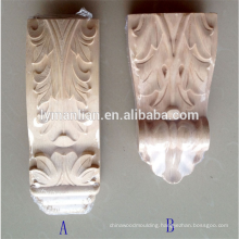 rubber wood carved corbels