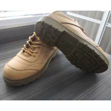 Yellow Colour Cheap Price Genuine Leather Steel Toe Safety Shoes  in kuwait for electrician  china