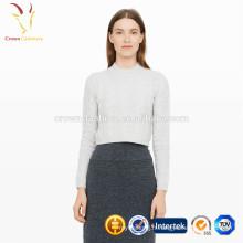 Mesdames tricot pull en cachemire de luxe femmes personnalisées 2017