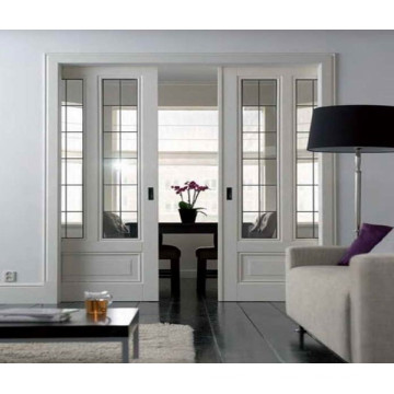 Wooden Glazed sliding design drawing room door