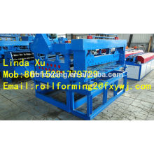 Sistema de nivelamento de telhas, niveladora e máquina de corte
