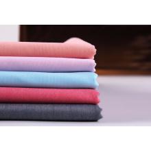 Chemise pour homme en tissu tissé extensible teint