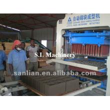 Máquina de ladrillo entrelazado maquinaria de materiales de construcción en sudáfrica