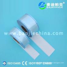 Pedido de esterilización médica con bolsa de rollo de sellado térmico con diferentes tamaños