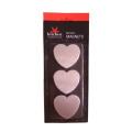 Stainless Steel Heart Shape Refrigerator Magnet