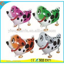 Hot Sell Christmas Gift Spotted Dog Walking Pet Balloon Toy