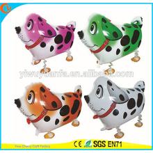 Горячие Продать Рождественский Подарок Пегая Собака Прогулки Pet Воздушном Шаре Игрушки