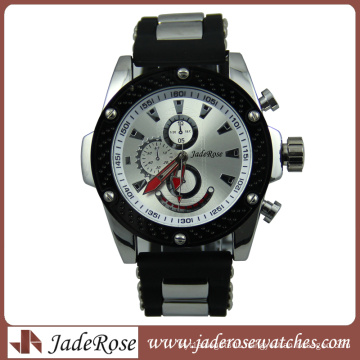 High Quality Fashion Custom Logo Bright Silicone Alloy Watch