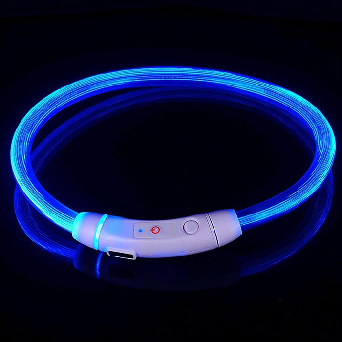 Waterproof Flashing Dog Collar
