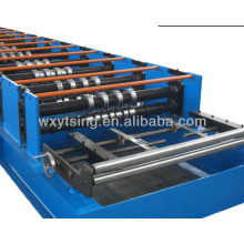 YTSING-YD-4200 Pass CE and ISO Galvanised Deck Panel Roll Forming Machine, Metal Deck Roll Forming Machine