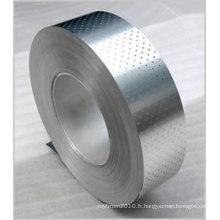 Bobine perforée de maille en métal d'acier inoxydable