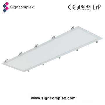 China Square Ceiling 30X120cm LED Panel Light with Spring Installation
