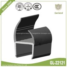 Bande d'étanchéité de porte en PVC rigide co-extrudé en forme de C