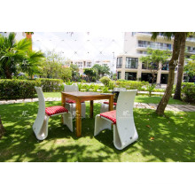 UV Resistant Rattan Dining Set For Garden